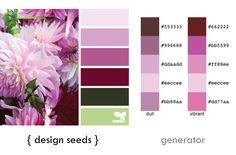generating color?   fresh hues   color + inspiration