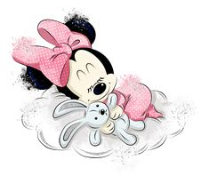 Minnie Mouse Images, Mickey Mouse Cartoon, Teddy Pictures, Girly Pictures, Cute Disney Wallpaper, Cartoon Wallpaper, Baby Disney, Disney Art, Baby Animal Drawings