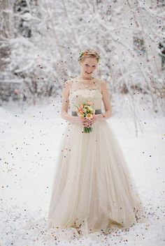 Un mariage d'hiver {Inspiration}