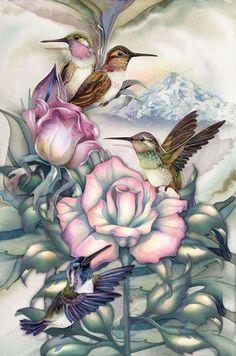 Hummingbirds by jody bergsma