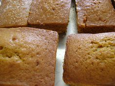 Pumpkin bread - added 2 apples (peeled and copped). WOW! So good!