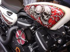 Sportster great Paint Job & RSD Air Filter