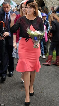 Princess Eugenie visits a Big Jubilee Lunch at All Saints Church, Fulham, London as part of the Diamond Jubilee celebrations