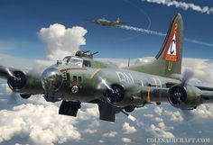 B-17G Flying Fortress of the 303rd BG, by Ron Cole