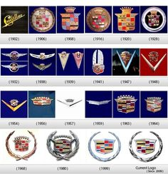 Cadillac emblem history... I luv luv luv caddi emblems...what girl doesn't?!