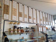 I nuovi pannelli menù #wood