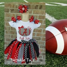 College Or NFL Football Cheerleader Tutu Outfits Any Team