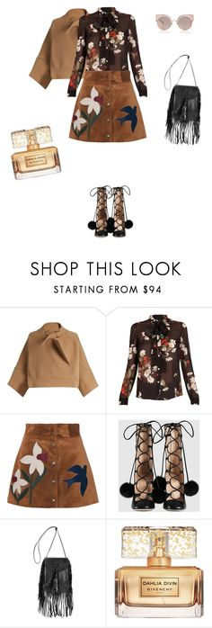 """""""Untitled #5"""" by nase-21 on Polyvore featuring Chloé, RED Valentino, Gucci, Yves Saint Laurent, Givenchy and Fendi"""