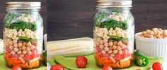 Tex-Mex Chickpea Salad with Chile Lime Dressing