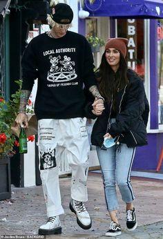 Machine Gun Kelly, Megan Fox Outfits, Kendall, Selena, Megan Fox Style, Kelly Fashion, New Flame, Colson Baker, Street Style Edgy