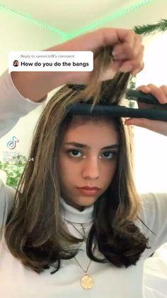Hair Tutorials For Medium Hair, Medium Hair Styles, Curly Hair Styles, Hair Tips Video, Hair Videos, Easy Hairstyles For Long Hair, Cute Hairstyles, Hair Curling Tips, Hair Streaks
