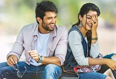 vijay devarakonda geetha govindam becomes no 1 in this year Love Couple Images, Cute Love Couple, Couples Images, Couple Photoshoot Poses, Couple Photography Poses, Smoke Photography, Couple Shoot, Bollywood Couples, Bollywood Actors