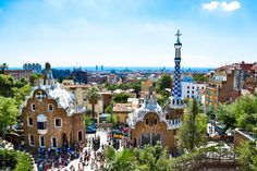 Park Guell - Barcelona. I ended up here the morning after seeing Tiesto. It's boring #random #overnighttrip