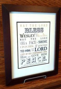 Boy Baptism Gift  Christening Gift  by SayitinStyleArt on Etsy, $14.99