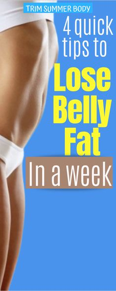 Lose Weight In A Week, Loose Weight, Lose Fat, How To Lose Weight Fast, Reduce Weight, Belly Fat Diet, Belly Fat Workout, Burn Belly Fat, Tummy Workout