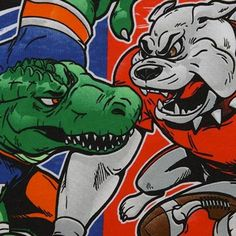The World's Largest Outdoor Cocktail Party - the Georgia-Florida Classic. Gators Vs Georgia, Georgia Bulldogs Football, Florida Georgia, Florida Gators, Florida Vs, Football Cheerleaders, Cheerleading, Football Tailgate, Tailgate Food