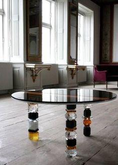 f79cbe05727e Louisiana Crystal Table by Reflections Copenhagen. Dansk Design SpisebordeSideborde