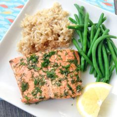 10-Minute Instant Pot Salmon (From Frozen!)