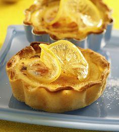 Zitronen-Tartelettes - Tante Fanny