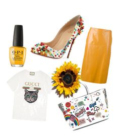 Designer Clothes, Shoes & Bags for Women Anya Hindmarch, Marni, Christian Louboutin, Gucci, Heels, Polyvore, Fashion, Heel, Moda