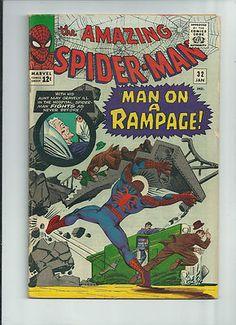 AMAZING SPIDER-MAN #32 Silver Age classic! Spidey versus Doctor Octopus!! http://r.ebay.com/9CAr73