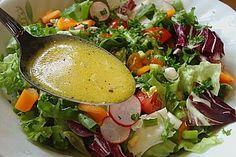 Zitronen - Senf - Dressing, ein leckeres Rezept aus der Kategorie Salatdressing. Bewertungen: 70. Durchschnitt: Ø 4,4.