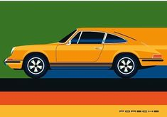 """bolundberg on Instagram: """"Time for another classic car, the Porsche 911. Soon available as print. In cooperation with Adam Lundberg. #porsche #porsche911 #car…"""" Porsche 911, Classic Cars, Illustrations, Instagram, Vintage Classic Cars, Illustration, Illustrators, Vintage Cars, Character Illustration"""