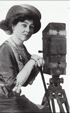 """The very first narrative filmmaker Alice Guy #FilmHerStory - @_pamelabgreen we can't wait! #SaveAlice"""
