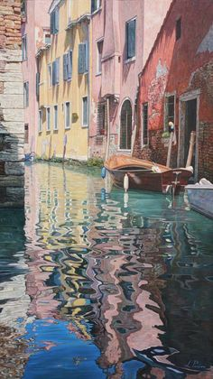 Venice. painting, artist Licio Passon