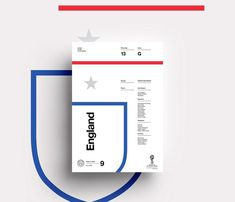 2018 FIFA World Cup Russia – Team Posters by Studio–JQ: Team England