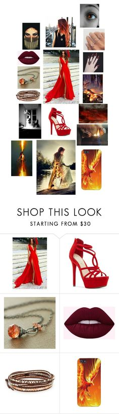 """""""The supernatural ( or greek mythology ) - Phoenix"""" by rosemarieyoung ❤ liked on Polyvore featuring Jessica Simpson and Chan Luu"""