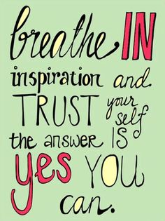 """""""Breath in inspiration and trust your self, the answer is yes you can."""" Find your happy place with affordable yoga wear and versatile leggings. Head to prAna.com and stock up on eco friendly, stylish workout pieces."""