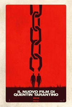 Django Unchained - Teaser Poster Italiano