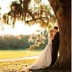Such a cute photo shoot idea for a country wedding!