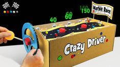Amazing Marble Race, How to Make Crazy Driver Game from Cardboard - YouTube