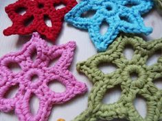 Ilona's blog: Ster haken patroon, crochet star pattern