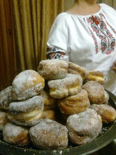Ukrainian Pampushky Christmas Doughnuts I Light and tender with variations of fillings, poppy seed, or prune jam, cherry preserves, or apricot jam   food.com