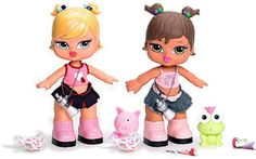 3. Bratz Babyz I think I had brats rock stars baby's can't remember