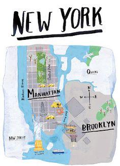 Via Grace Lee | New York Map