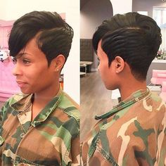 Pictures Of Short Black Hairstyles Enchanting 60 Great Short Hairstyles For Black Women  Pinterest  African