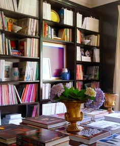 Eclectic Library | Raji RM & Associates | Dering Hall Design Connect In partnership with Elle Decor, House Beautiful and Veranda.