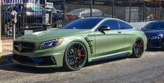 Military Green Wald S63 Coupe Mercedes - RDB !