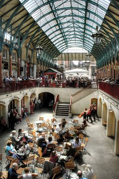 Covent Garden. Covent Garden is located in the heart of the West End. An historic fruit and vegetables market from the 16th Century, finally closing in 1974. Now famous for it's markets.