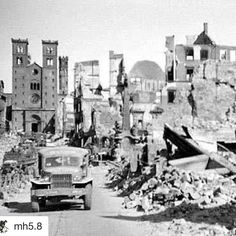 #Repost @mh5.8 with @repostapp  Bombing Würzburg. On March 16 1945 nearly 90% of Würzburg was devastated by a massive airraid carried out by 225 Royal Air Force bombers. Almost all of the city's churches cathedrals and public buildings were heavily damaged or completely destroyed by the resulting firestorm. An estimated 5000 people perished in the blaze and the city center which dated from medieval times was flattened. Würzburg surrendered to American forces in early April 1945. #würzburg…