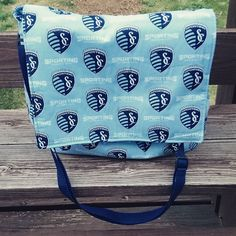 #SportingKC baby bag (via melshandbagsandmore on Instagram)