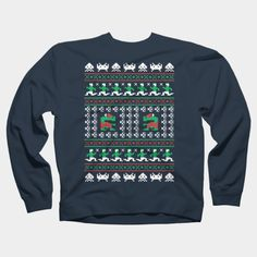 Games Of Christmas Past Crewneck By RetroReview Design By Humans