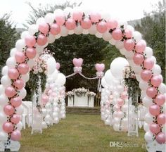X Balloon Arch For Wedding Party Event Venue Decoration Ballon Arch, Deco Ballon, Balloon Columns, Wedding Balloon Decorations, Wedding Balloons, Birthday Party Decorations, Decoration Party, Backdrops For Sale, Wedding Backdrops