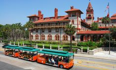 Old Town Trolley Tours offers a complete narrated tour of St. Augustine, along with the convenience of 23 stops throughout the historic district.