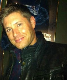 Jensen Ackles ...I want to grab him like that little girl does the unicorn toy in Despicable Me.
