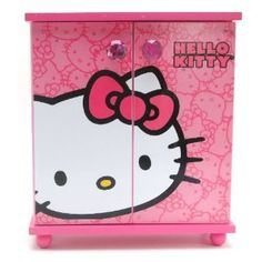 Hello Kitty Pink LOVE Embellished Jewelry Box (Kitchen) http://www.amazon.com/dp/B001GTNJZW/?tag=mnnean-20 B001GTNJZW